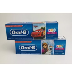 ORAL-B KIDS PASTA DENTAL FROZEN/CARS 75 ML