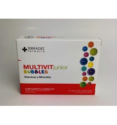 TERRADEZ MULTIVIT JUNIOR BUBBLES 27GOMINOLAS