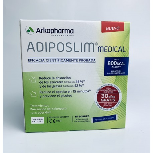 ARKOPHARMA ADIPOSLIM MEDICAL 45 SOBRES