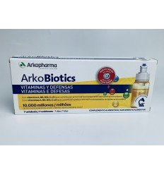 ARKOBIOTICS VITAMINAS Y DEFENSAS ADULTOS 7 UNIDO