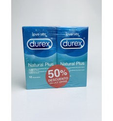 DUREX DUPLO NATURAL PLUS 12UDS