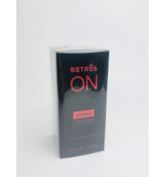 COLONIA BETRES POWER FOR HIM 100ML (NEGRA)