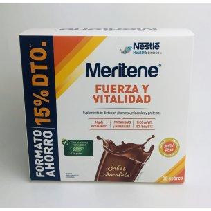 MERITENE POLVO CHOCOLATE 30 SOBRES